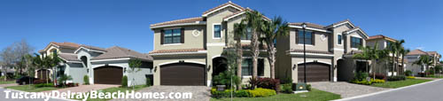 Consider all the benefits of living in a home in Tuscany in Delray Beach, Florida. It is a great place to call home.
